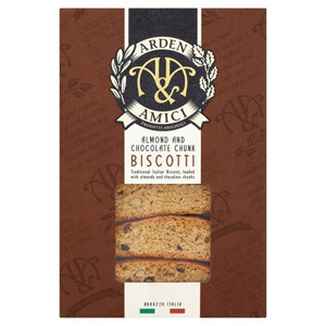 Arden and Amici Almond and Chocolate Biscotti