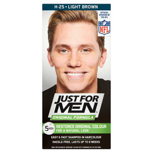 Just For Men Hair - Light Brown 25