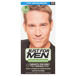 Just For Men Hair - Light Med Brown 30
