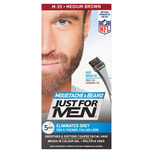 Just For Men Moustache & Beard - Med Brown 35