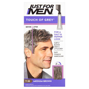 Just For Men Touch of Grey - Med Brown Grey 35