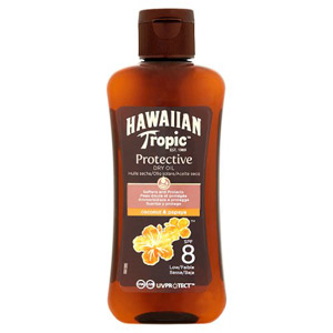 Hawaiian Tropic Protection Oil SPF 8 100ml