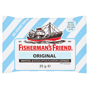 Fishermans Friend Blue Stripe (Toothkind Extra Strong)