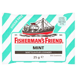 Fishermans Friend Mint (Green Stripe)