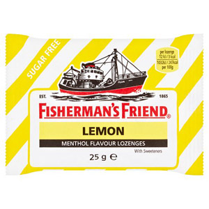 Fishermans Friend Lemon (Lemon Stripe)