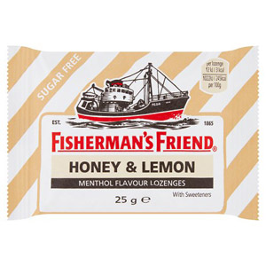 Fishermans Friend Honey & Lemon (Sugar Free)