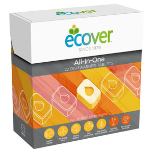 Ecover All-In-One Dishwasher Tablets 22s