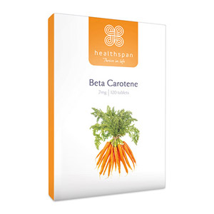 Healthspan Beta Carotene 120 Tablets