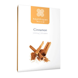 Healthspan Cinnamon 1000mg 120 Tablets