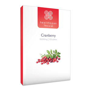 Healthspan Cranberry 120 Tablets