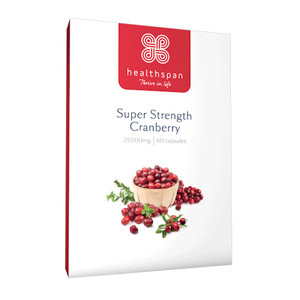 Healthspan Super Strength Cranberry 60 Capsules