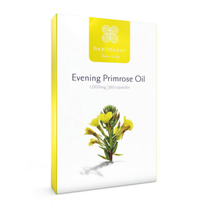 Healthspan Evening Primrose Oil 1000mg 180 Capsules