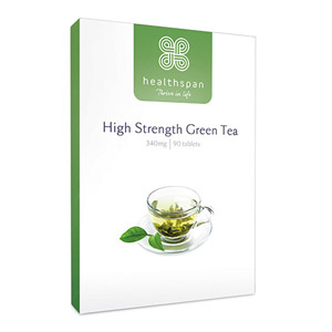 Healthspan High Strength Green Tea 90 Tablets