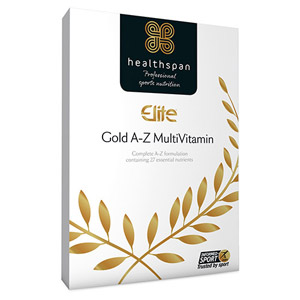 Healthspan Elite Multivitamin Gold A-Z 120 Tablets