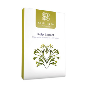 Healthspan Kelp Extract 360 Tablets