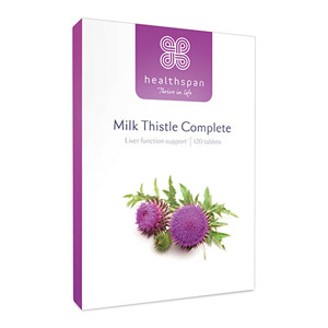 Healthspan Milk Thistle Complete 120 Tablets