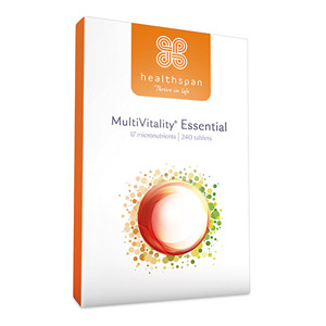 Healthspan MultiVitality Essential 240 Tablets