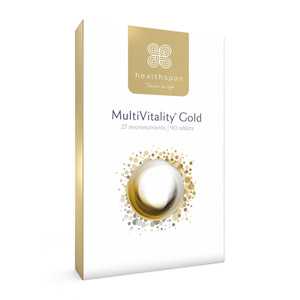 Healthspan MultiVitality Gold 90 Tablets