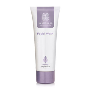 Healthspan Replenish Facial Wash 75ml