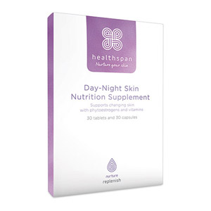 Healthspan Replenish Day-Night Skin Nutrition Supplement 60 Capsules & Tablets