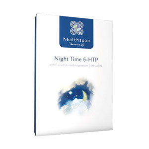 Healthspan Night Time 5-HTP 60 Tablets