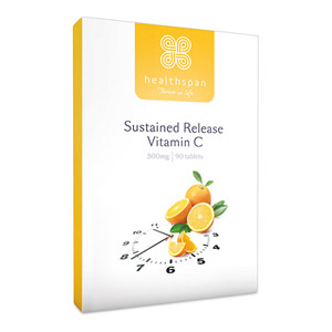 Healthspan Vitamin C Sustained Release 90 Tablets