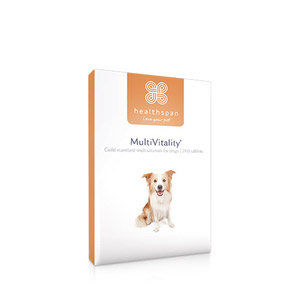 Healthspan MultiVitality (was Multivit Complete) For Dogs