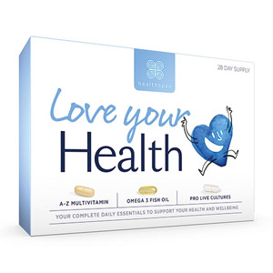 Healthspan Love Your Health Daily Essentials 28 Day Supply