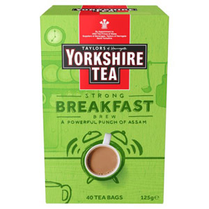 Yorkshire Tea Breakfast Brew 40 Pack