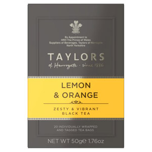 Taylors Lemon And Orange Tagged Bags 20s