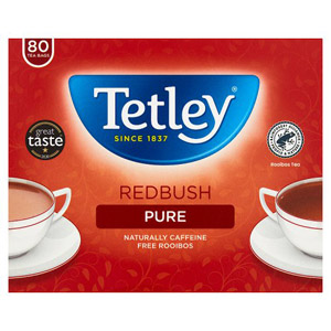 Tetley Redbush 80 Tea Bags