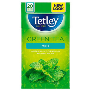Tetley Green Tea with Mint 20s