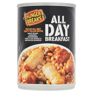 Crosse and Blackwell Hunger Breaks All Day Breakfast