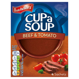 Batchelors Cup a Soup Beef & Tomato