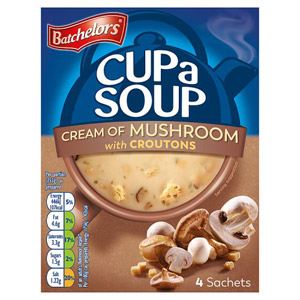Batchelors Cup a Soup Cream Of Mushroom
