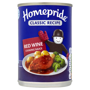Homepride Can Red Wine Sauce 400g