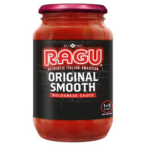 Ragu Original Smooth Bolognese Sauce