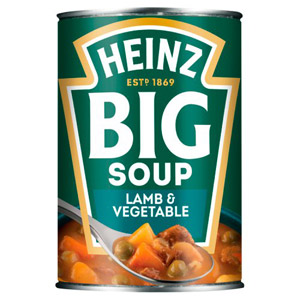 Heinz Big Soup Lamb and Vegetable
