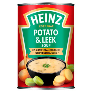Heinz Potato and Leek Soup