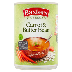 Baxters Vegetarian Carrot and Butterbean Soup