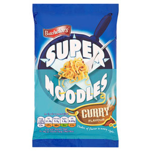 Batchelors Mild Curry Super Noodles