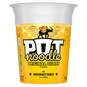 Pot Noodle Curry Original