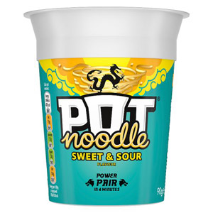 Pot Noodle Sweet and Sour