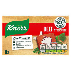 Knorr Beef Stock Cubes 8 Pack
