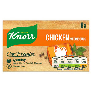 Knorr Chicken Stock Cubes 8 Pack