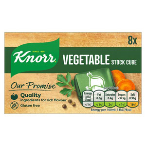 Knorr Vegetable Stock Cubes 8 Pack