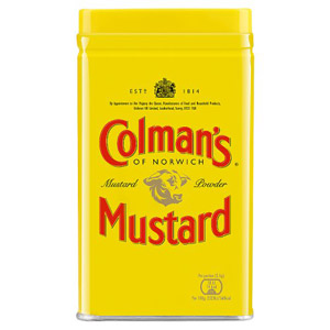 Colmans Mustard Powder Medium