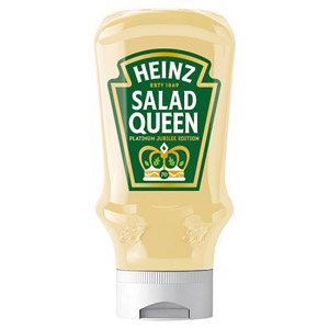 Heinz Salad Cream Squeezy Top Down