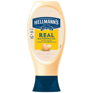 Hellmanns Real Mayonnaise Squeezy