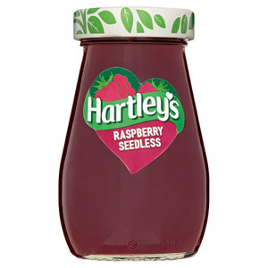 Hartleys Best Raspberry Seedless Jam